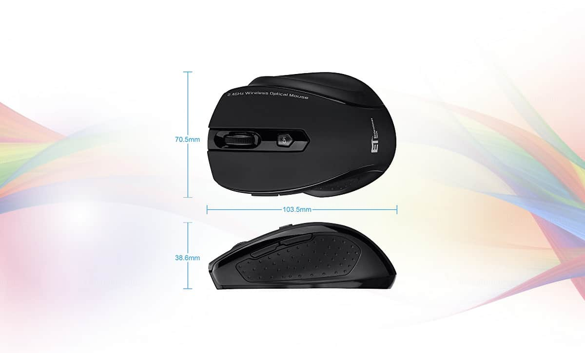 VicTsing 2 4GHz Wireless Mouse Review - FancyAppliance