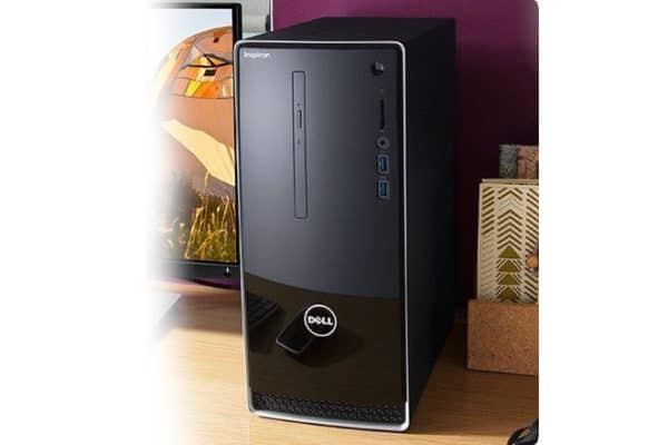 The dazzlng look of the Dell Inspiron 3668