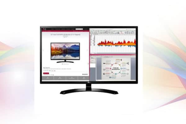 Image shows the LG 32MA70HY-P 32-Inch IPS Monitor Display