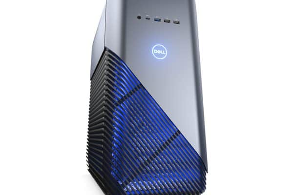 Image of the Dell Inspiron i5680-7813BLU-PUS front and side view