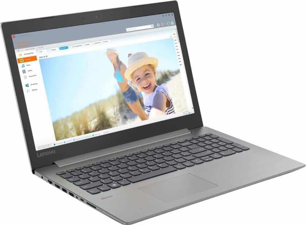 The Lenovo Ideapad 330 display is 1366 x 768 resolution display