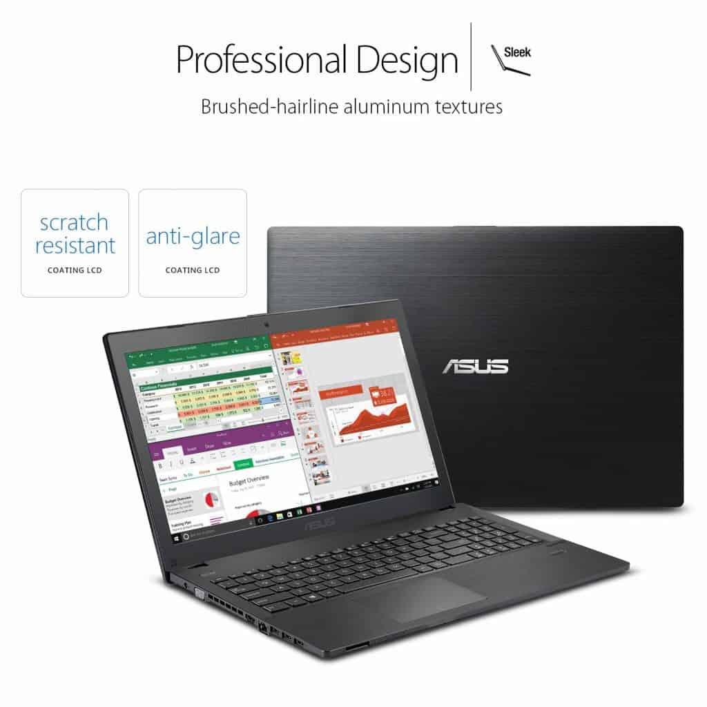 Image of the ASUSPRO P2540UB-XB71 laptop display