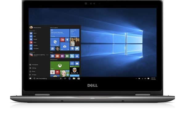 Image of the Dell Inspiron i5378-5743GRY Laptop display