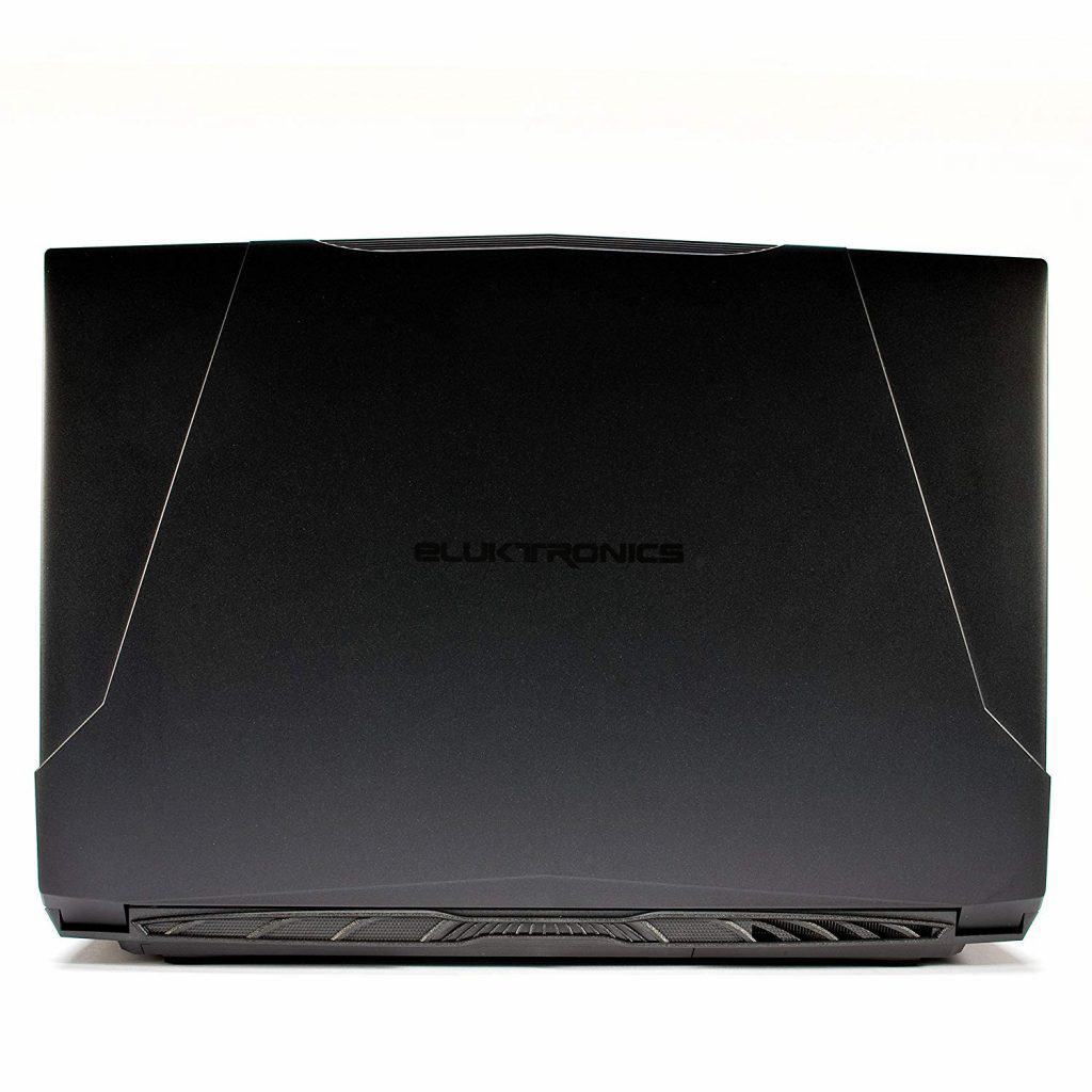 Image of the Eluktronics N850HP6 Pro-X case with muscle lines