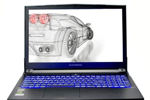 Image of the Eluktronics N850HP6 Pro-X Gaming laptop
