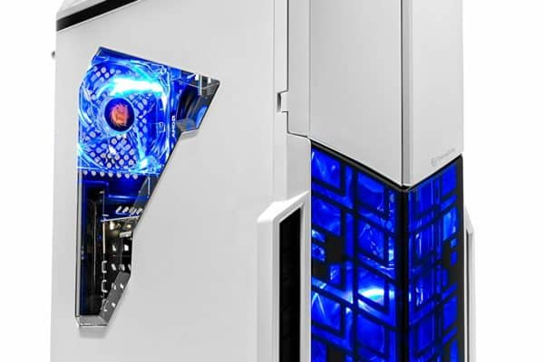 A front view of the [Ryzen & GTX 1050 Ti Edition] SkyTech ArchAngel Desktop