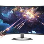 Image of the curved Sceptre C278W-1920R Monitor