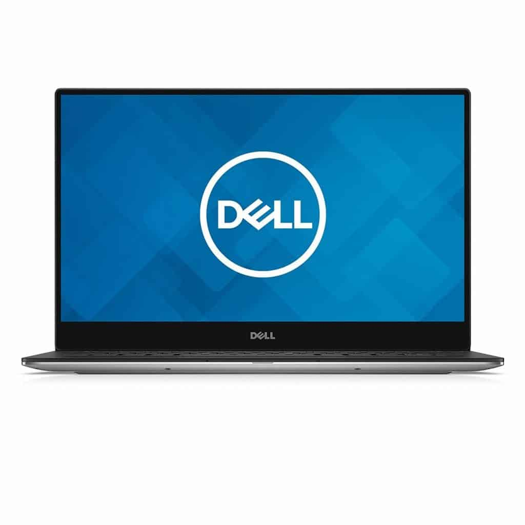 Image of the Dell XPS 13 (9370) in black and white shades