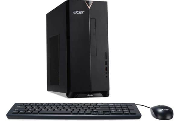 A great view of the Acer Aspire TC-885-UR16 Desktop