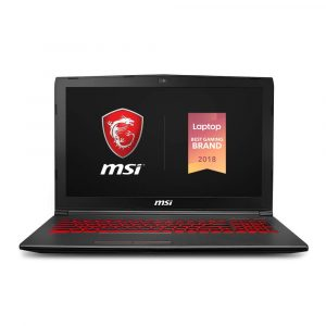 The MSI GV62 8RD-276 laptop Full HD display