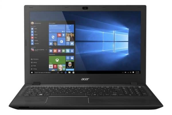 A close up look of the Acer Aspire F5-571T-58AL Laptop