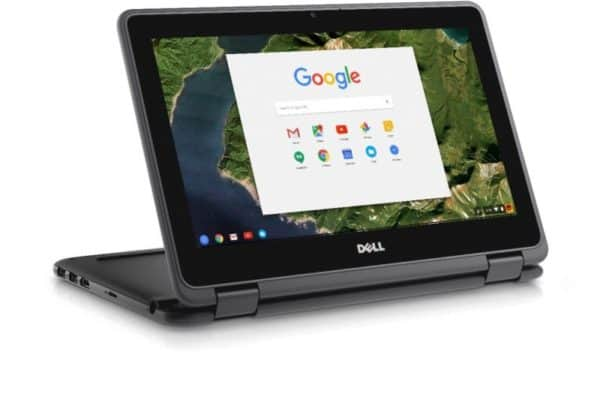 A close up of the Dell Chromebook 11 3189 T8TJG Laptop