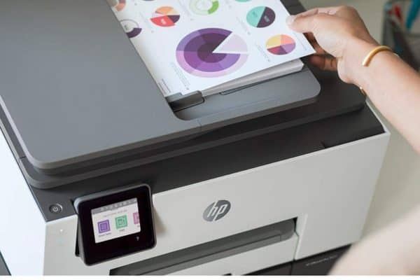 Image of the HP OfficeJet Pro 9025 Printer