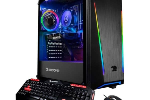 A close up of the iBuyPower Trace2 9250 Desktop