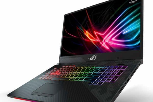 A close up of the Asus ROG Strix GL704GW-DS76 laptop