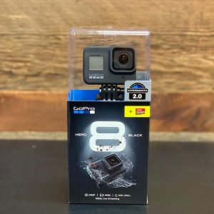 Front view of the GoPro Hero8 Black