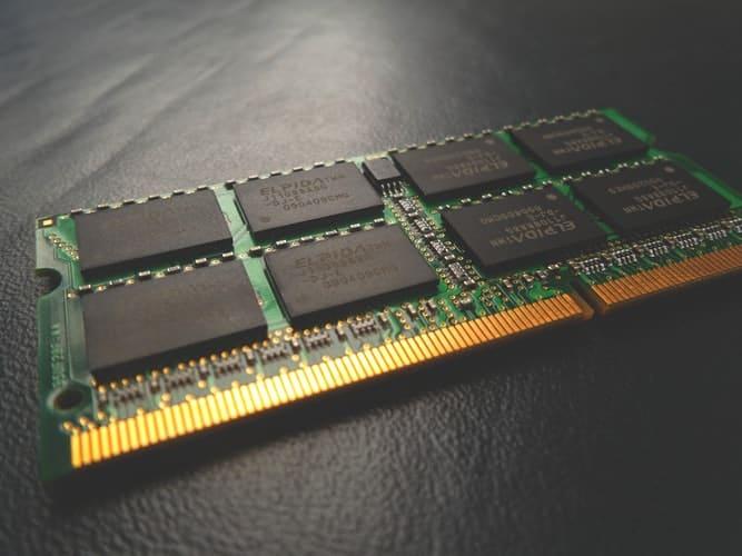 Laptop RAM stick